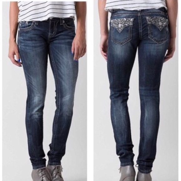 Miss Me Denim - Miss Me Signature Skinny Jean Size 26